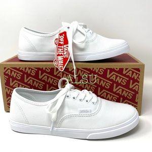 VANS Authentic Lo Pro White Canvas Women's Sneaker